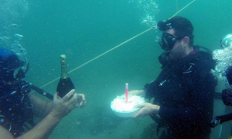 Рожден ден на водолази