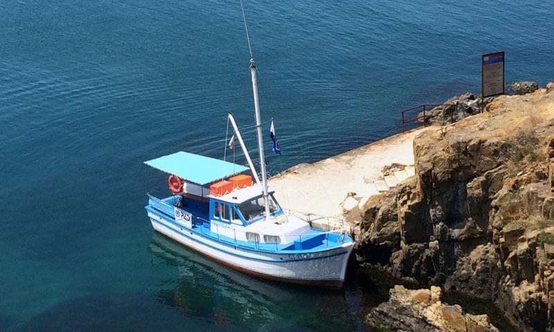 Кораб за гмуркане Созопол
