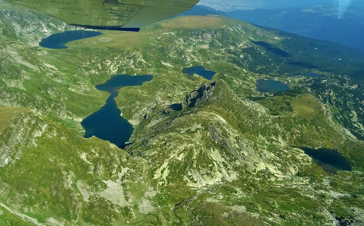 Полет на седемте рилски езера 3