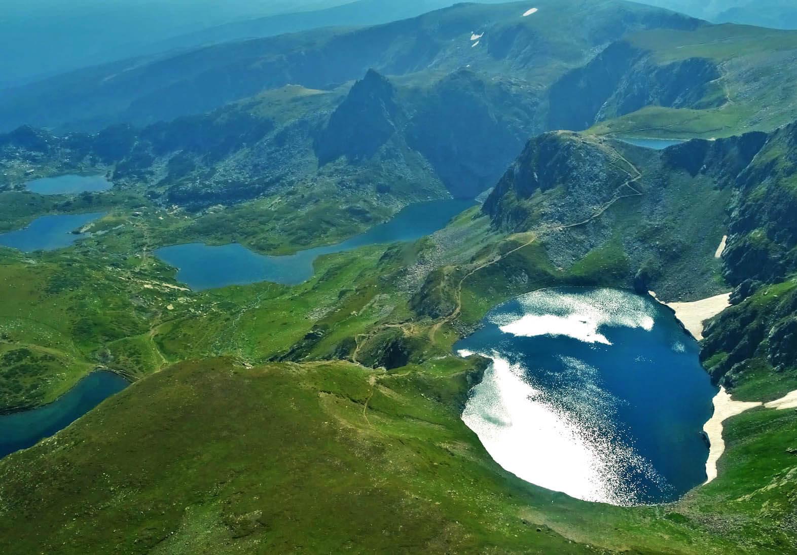 Полет на седемте рилски езера 1