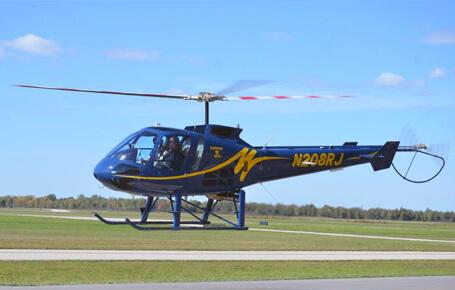 Разходка с хеликоптер