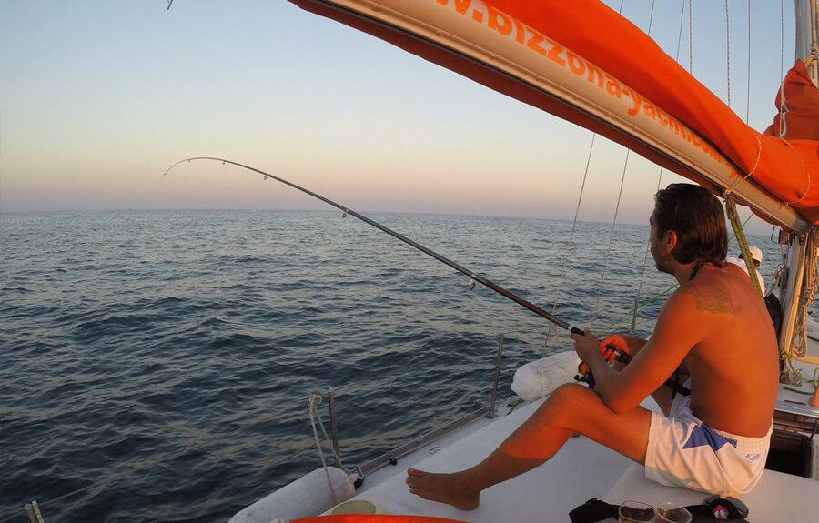 Морски риболов Яхта