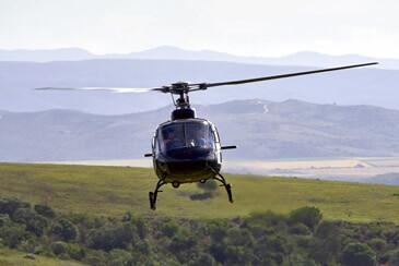 Полет с хеликоптер