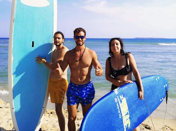 Урок по хавайски сърф