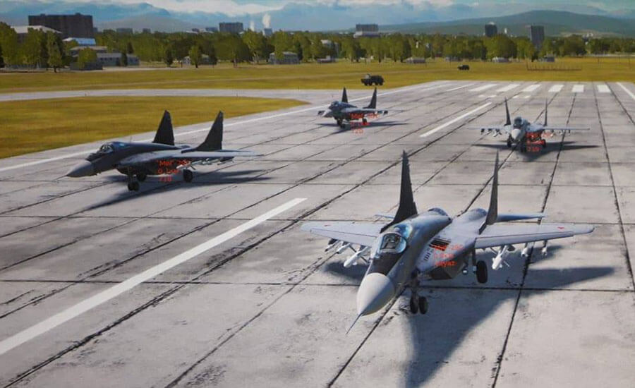 Авиационен симулатор