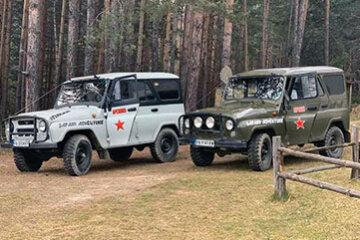 Сафари с руски джипове